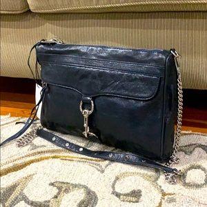 💕Rebecca minkoff Mac daddy navy handbag nwt $350